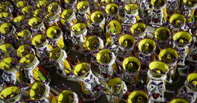 Brazil's have-nots take in Carnival parades from afar