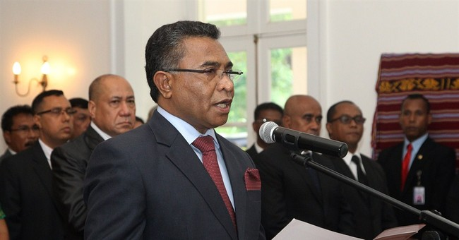 Opposition party member sworn in as premier of East Timor