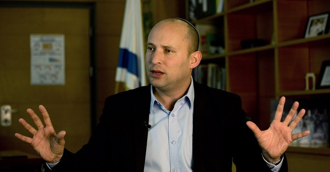 AP Interview: Netanyahu election ally tough on Palestinians