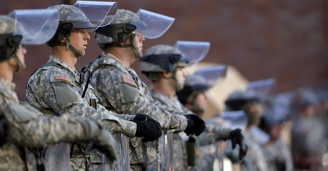 Records: Police wanted  Guard in Ferguson neighborhood
