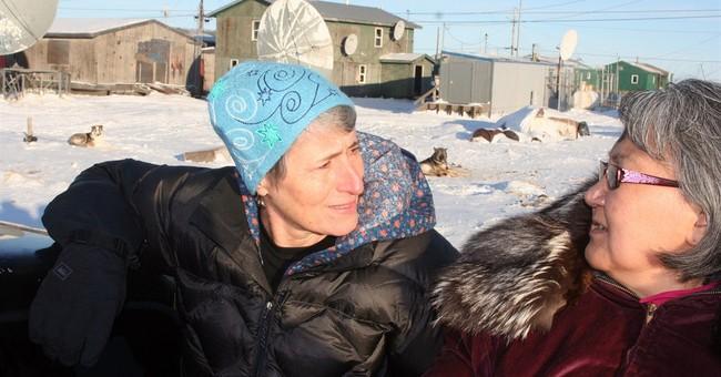 Interior Secretary Jewell visits eroding Alaska village