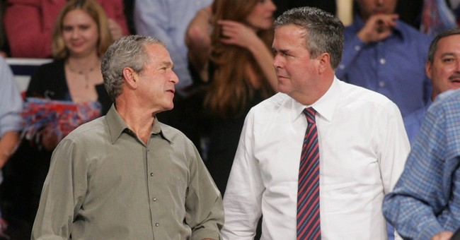 Comparisons to brother 'interesting challenge' for Jeb Bush