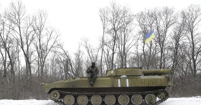 Battle persists for Ukraine railway hub, despite peace deal
