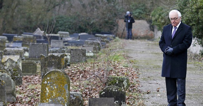French teens face preliminary charges in cemetery vandalism