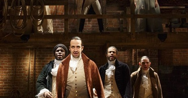 Review: Lin-Manuel Miranda's 'Hamilton' is a rollicking show