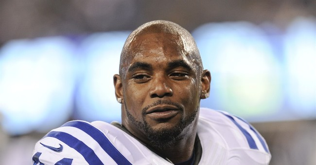 Not-guilty plea for Colts' Ahmad Bradshaw on Ohio pot charge