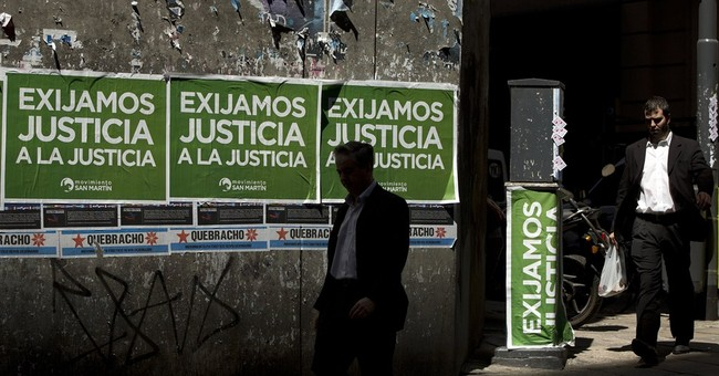 Argentina gov't braces for march to protest prosecutor death