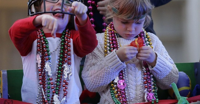 Mardi Gras in New Orleans: glitzy balls, then the parades