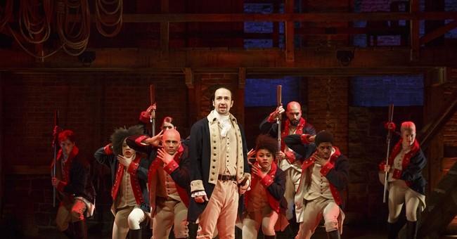 Review: Lin-Manuel Miranda's 'Hamilton' is a rollicking show
