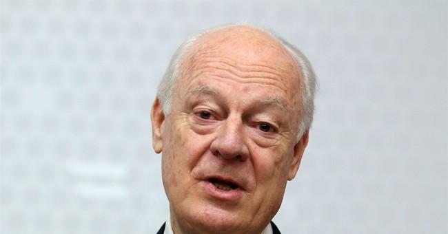 UN envoy: Syria willing to suspend Aleppo strikes 6 weeks