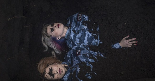 Pussy Riot 'buried alive' in new music video