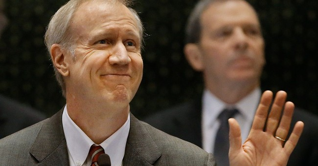Illinois' new GOP governor calls for billions in budget cuts