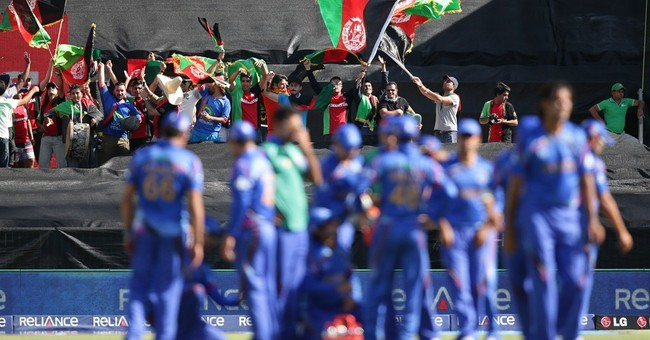 Afghanistan plays historic first match at Cricket World Cup
