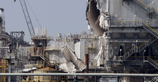 California refinery unit was down with problems before blast