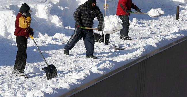 Dozens of New England roofs buckling under 8 feet of snow