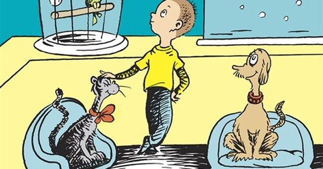 Take a look - Dr. Seuss has a new book