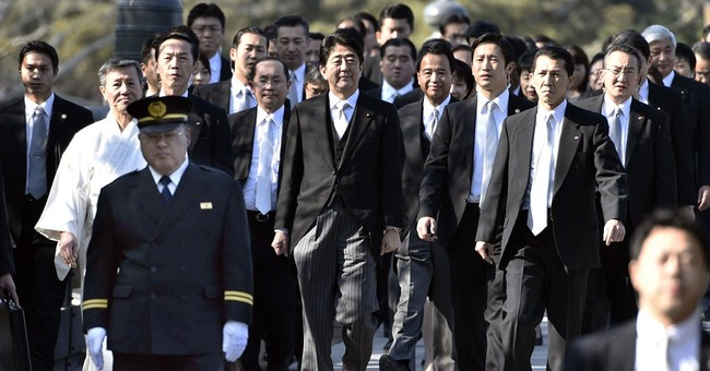 Japan's leader says he will express remorse for World War II