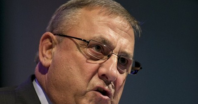 AP Exclusive: Maine governor spent $53K in Medicaid fight