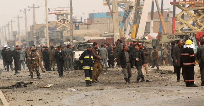 Suicide bomber hits European police in Kabul; 1 dead
