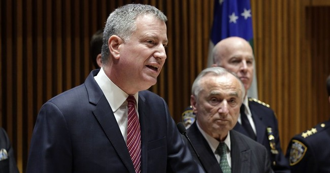 NYC Mayor de Blasio: Police were disrespectful to turn backs