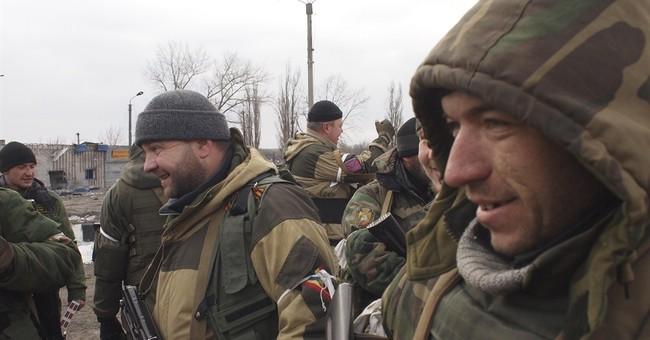 Key Ukraine town under rebel control, separatists celebrate