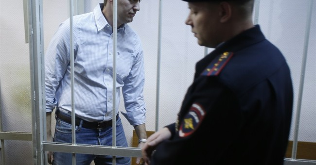Russian opposition leader Navalny given 15 days in custody