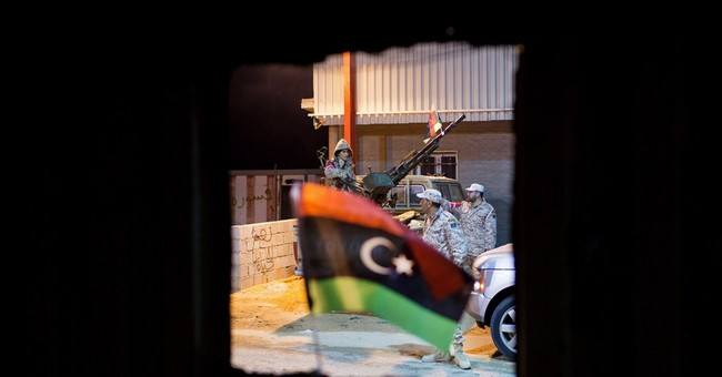 US, Britain say Libya needs government before weapons
