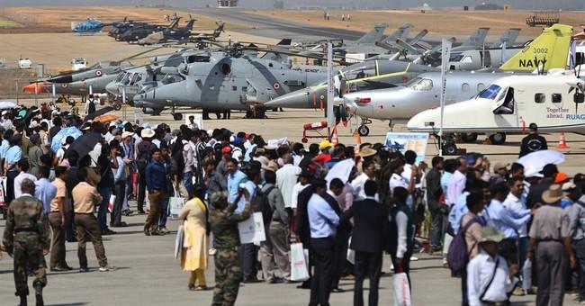 Aerobatic stunt duo has scrape in sky, lands safely in India