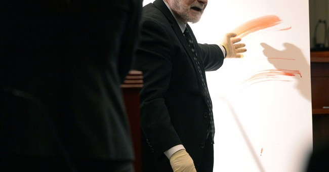 Expert at doctor's trial: Blood spatter indicates struggle