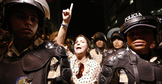 Caracas mayor who opposed government violently arrested