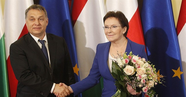 Polish leader holds 'difficult' talks with Hungary's Orban