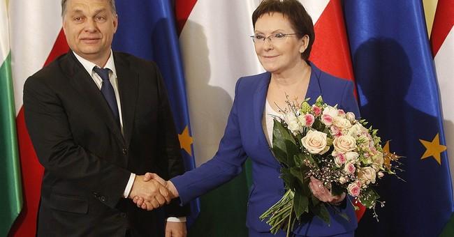 Polish leader holds 'difficult' talks with Hungary's Orban