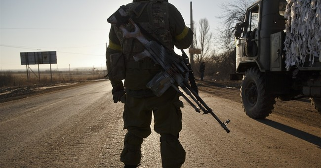 Key Ukraine town under rebel control, separatists celebrate