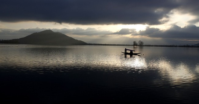 Image of Asia: A break in the clouds in Kashmir