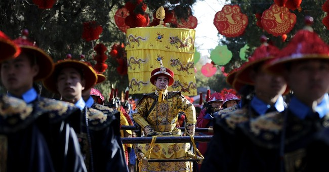 Glimpse of Chinese New Year: The emperor returns to Beijing