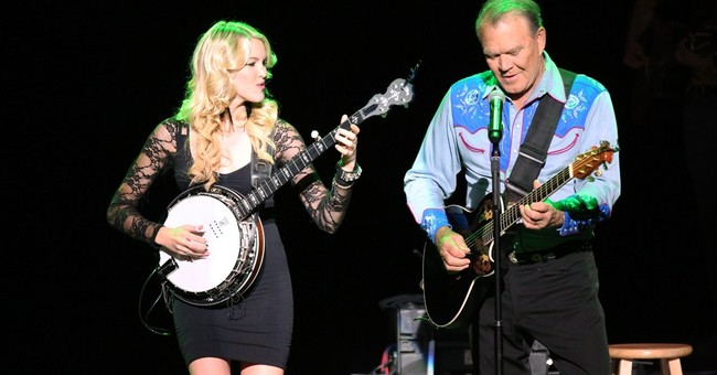 Music connects ailing Glen Campbell and daughter Ashley