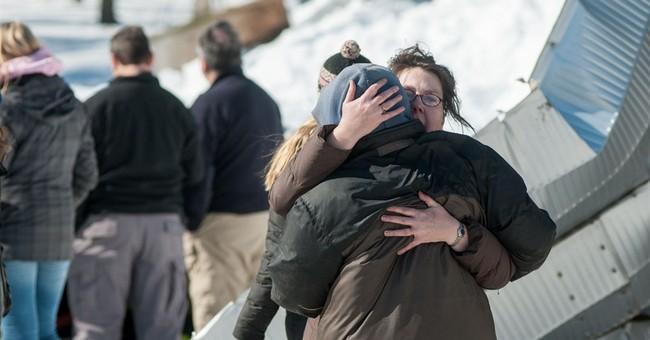 Heavy snow collapses suburban Boston barn, killing 2 horses