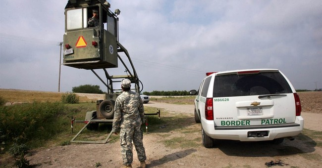 Guard troops staying on border, but some question mission