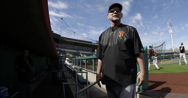 Giants manager Bochy returns to camp after heart procedure