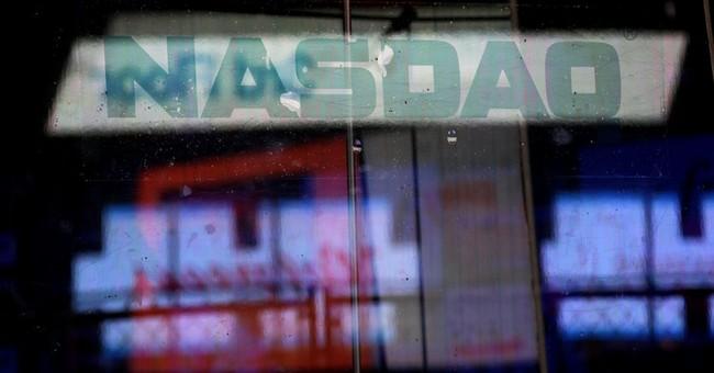 Nasdaq gains for eighth straight day, nearing dot-com high