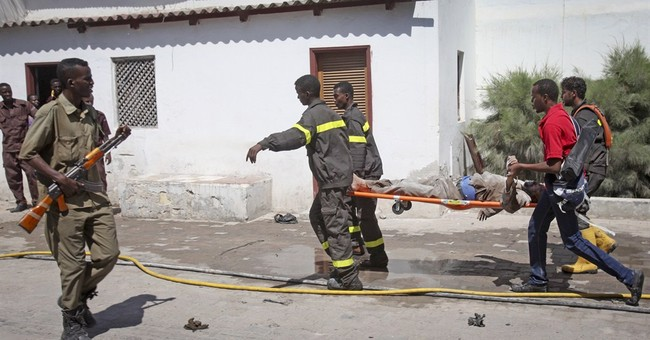 Suicide bombings at Somalia hotel kill at least 10 people