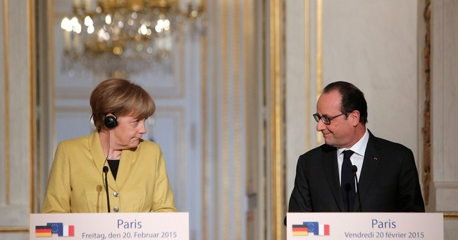 France, Germany hold out sanctions if Ukraine accords break