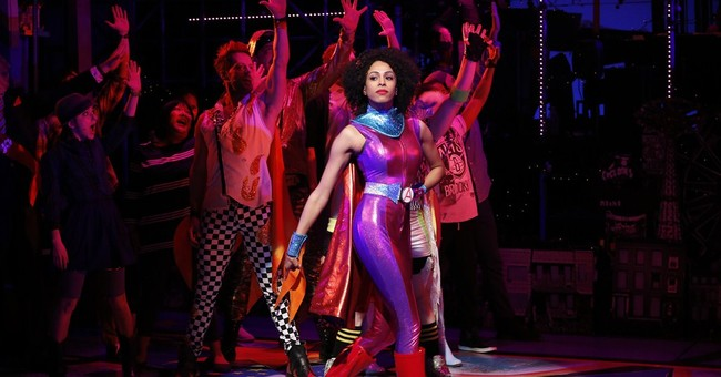 Who's that in a cape? New musical stars Brooklyn superheroes