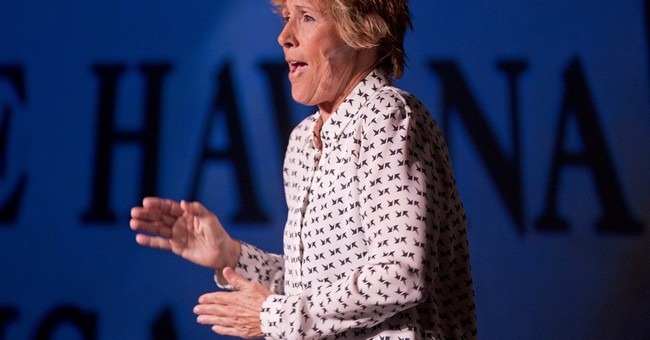 Diana Nyad turns her record swim into a 1-woman stage show