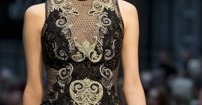 London Fashion Week Day 2: Sequins, retro looks, Cinderella
