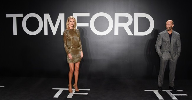 Hollywood's biggest names come out to for rare Tom Ford show