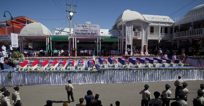 Thousands attend funeral in Haiti for 17 Carnival victims
