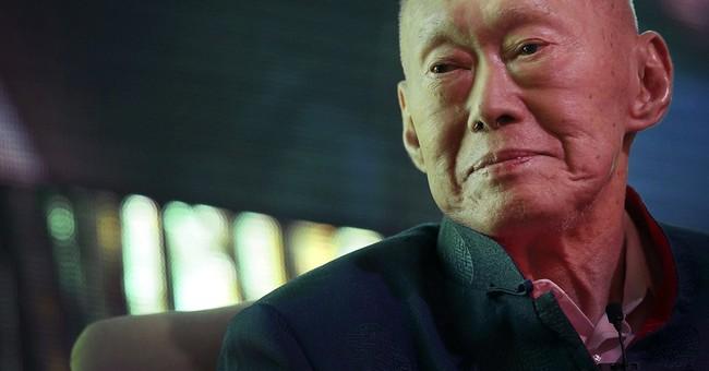 Singapore's founder hospitalized with pneumonia