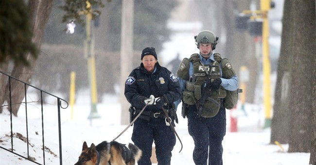Minneapolis officer wounded in apparent targeted attack