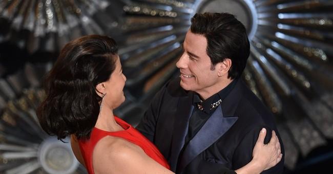 SHOW BITS: Travolta still ribbed for last year's name flub